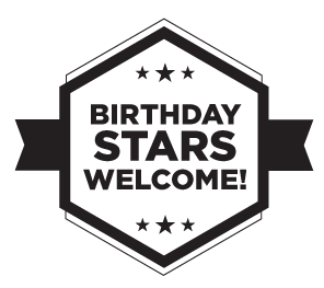 Birthday Stars Welcome